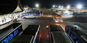 Selamat tinggal tempat peristirahatan bus
