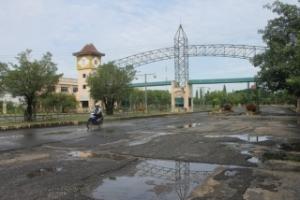 Selamat datang di terminal Karyajaya Palembang
