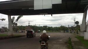 Memasuki terminal Timbangan KM 32, Indralaya
