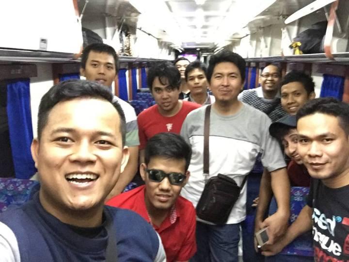 selfie di kereta